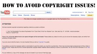 How To AVOID copyright strikes and use music in your video   Tutorial avoid copyright