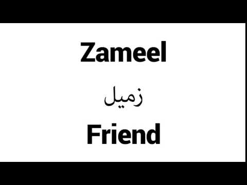 Zameel - Islamic Name Meaning - Baby Names for Muslims