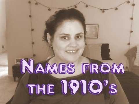 Names from the 1910's – The Ballroom Decade
