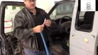 DIY How To Mask Door Jambs on Cars
