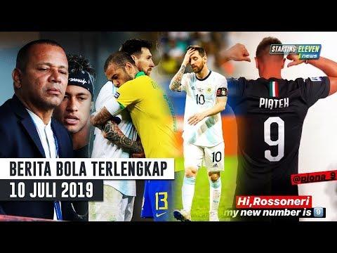 Alves Kritik Sikap Buruk Messi 😱 Kemarahan Ayah Neymar 😡 Piatek RESMI Pakai No 9 Di Milan