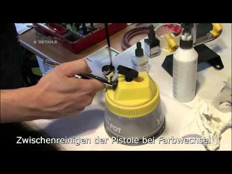 TRUCKS & Details: Airbrush-Grundlagen