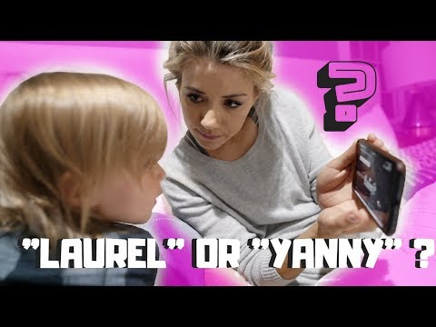 TAYTUM AND OAKLEY DECIDE LAUREL OR YANNY?
