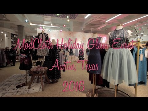 ModCloth Holiday Glam Event 2016