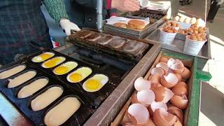 [South Korea:Busan] Street food Seed Egg Bread
