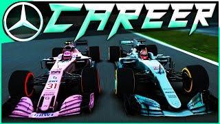 China 2.0 CRAZY RACE!   F1 2017 Career Mode #63   Bahrain GP