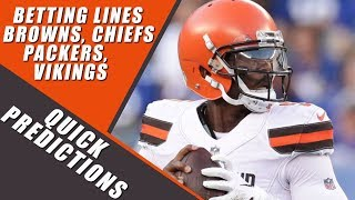 Cleveland Browns: I'm Betting $100 on them