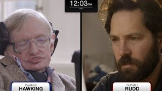 Repeat youtube video Stephen Hawking vs. Paul Rudd in Quantum Chess (feat. Keanu Reeves)