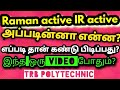Raman Active And IR Active? For C2h And C2v Character Table? Very Simple|Easy To Understand|TRB Poly