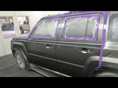 Jeep Spray Painting