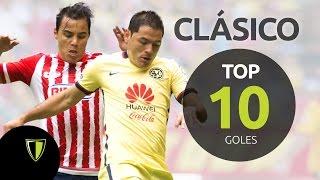 América vs Chivas- Top 10 Goles Clásico.