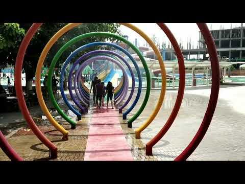 Blue world theme park*(kanpur)*-ब्लू वर्ल्ड थीम पार्क में घूमने वाली जगह