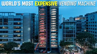 World's Most Expensive Vending Machine (It's in Singapore)
