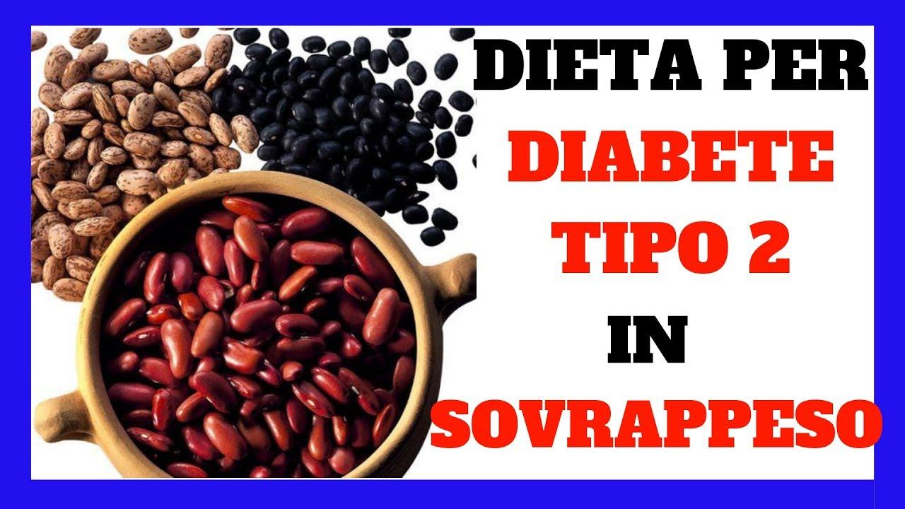 dieta dimagrante per diabetici di tipo 2