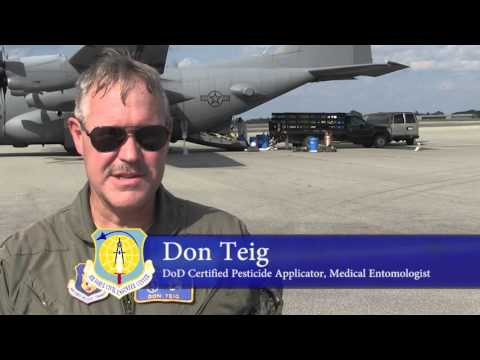 Air Force Mosquito Control