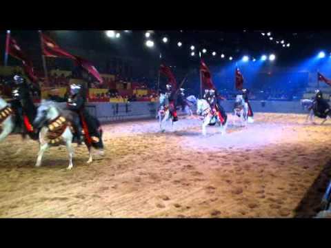 over at medieval times in dallas tx