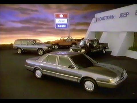 Chrysler Eagle Car Commercial Eagle Premier Debut Of Eagle Promo 1988