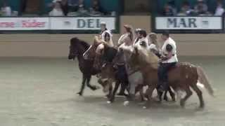 Knights of Iceland  - Night of the Horse 2015 - Del Mar National Horse Show