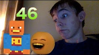 Reaction to Annoying Orange Gaming's 1 Million Subs Minecraft Splody Special || CONGRATS ORANGE