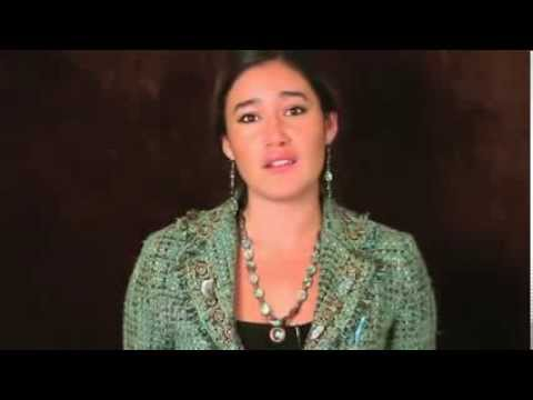 Actress Q'Orianka Kilcher speaks up, speaks out for Indigenous Peoples' Rights