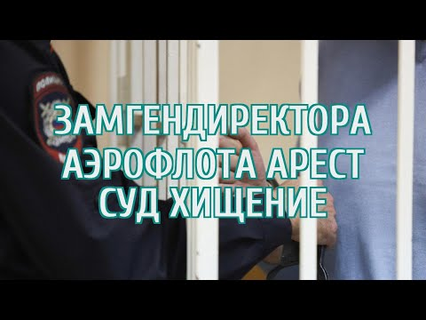 Суд арестовал заместителя гендиректора «Аэрофлота»