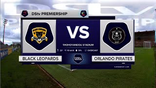 DStv Premiership | Black Leopards v Orlando Pirates | Highlights