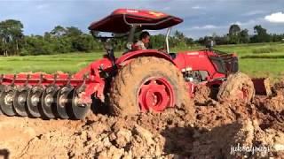 รถไถติดหล่ม รถแทรกเตอร์ Tractor kubota M8540
