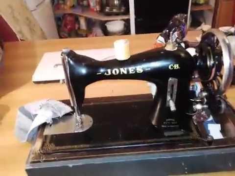 Jones CB YouTube Cool Jones Cb Sewing Machine