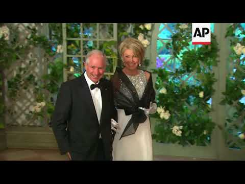 Senators, Cabinet Members Arrive For First Trump State Dinner