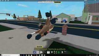 Riding a Horse in Roblox and Playing a Song Lil Nas X - Old Town Road