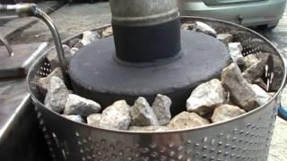 Печь для бани с парогенератором.