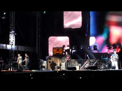 colder weather performed live at the dell diamond in Round Rock,Tx.