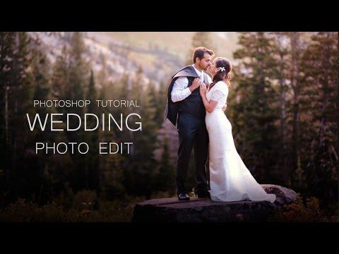 wedding photo editing | photoshop tutorial | Color adjustment