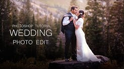 wedding photo editing | photoshop tutorial | Color adjustment
