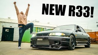 TAKING DELIVERY OF MY R33 SKYLINE FROM JAPAN!!