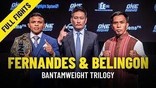 Bibiano Fernandes vs. Kevin Belingon | Bantamweight Trilogy | ONE Full Fights