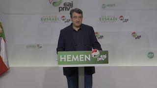 PNV afea el uso de Euskadi como arma arrojadiza en el debate