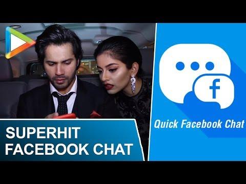 Superhit Facebook chat with Varun Dhawan and Banita Sandhu in Dubai