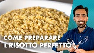 Come preparare il risotto perfetto *TUTTORIAL*