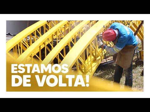ESTAMOS DE VOLTA! | O TRABALHO NÃO PARA