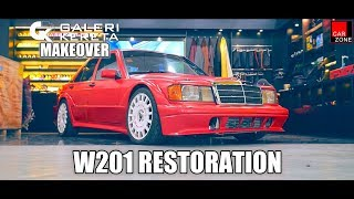 Mercedes W201 190E Makeover by CarZone