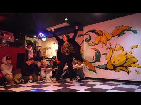 JUNKO(TOKYO FEMALE WAACKERS) JUDGE DEMO D.O.D vol.94 FREESTYLE DANCE BATTLE