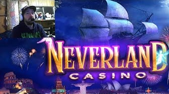NEVERLAND CASINO Slot / Slots by Wgames | Free Mobile Game | Android Gameplay Youtube YT Video Leon