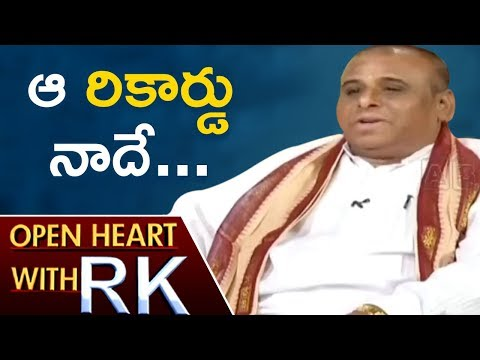 Avadhani Dr. Medasani Mohan Talks About Telugu Literature | Open Heart With RK | ABN Telugu