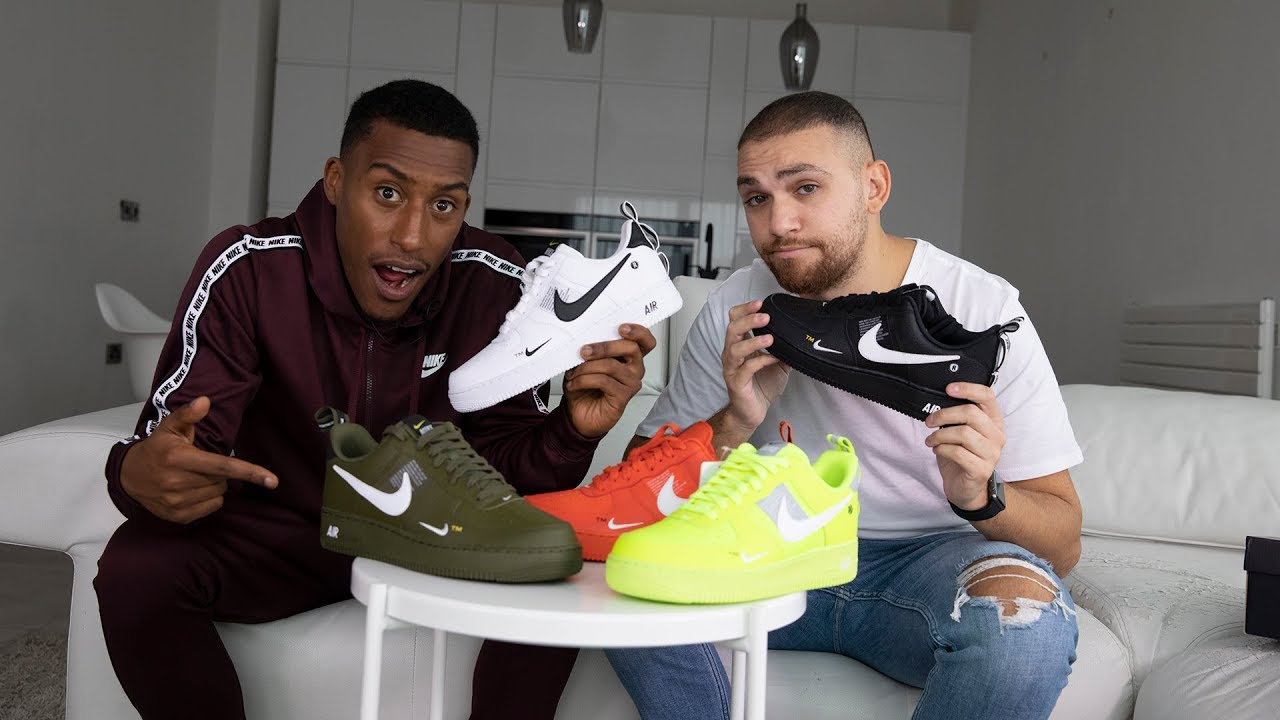 478a330dc0 Unboxed: Nike Air Force 1 'Utility pack' ft. Yung Filly and Ediz + WIN THE  FULL PACK. Footasylum