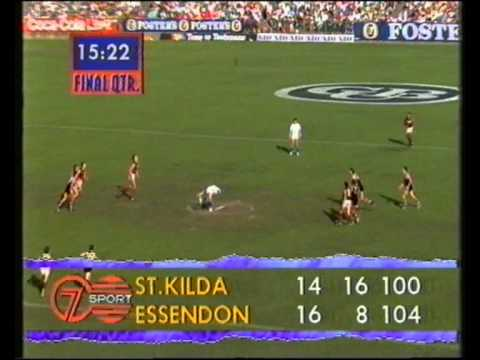 Stkilda   vs  Essendon  rd 1 1992