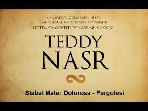 Instrumental / Karaoke - Stabat Mater Dolorosa (Pergolesi)