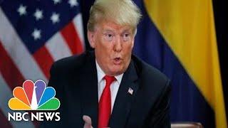 Trump Holds Press Conference On Eve Of Brett Kavanaugh, Christine Blasey Ford Hearing | NBC News