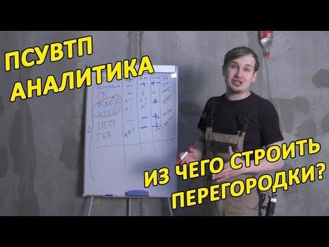 """ПСУВТП-Аналитика: """"Из чего делать межкомнатные перегородки?"""" Дмитрий Павлов."""