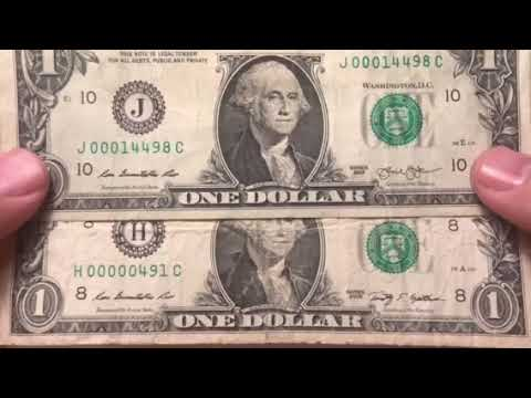 Low Serial Number Dollar Bills That Are Actually Worth Money - Searching  Paper Money